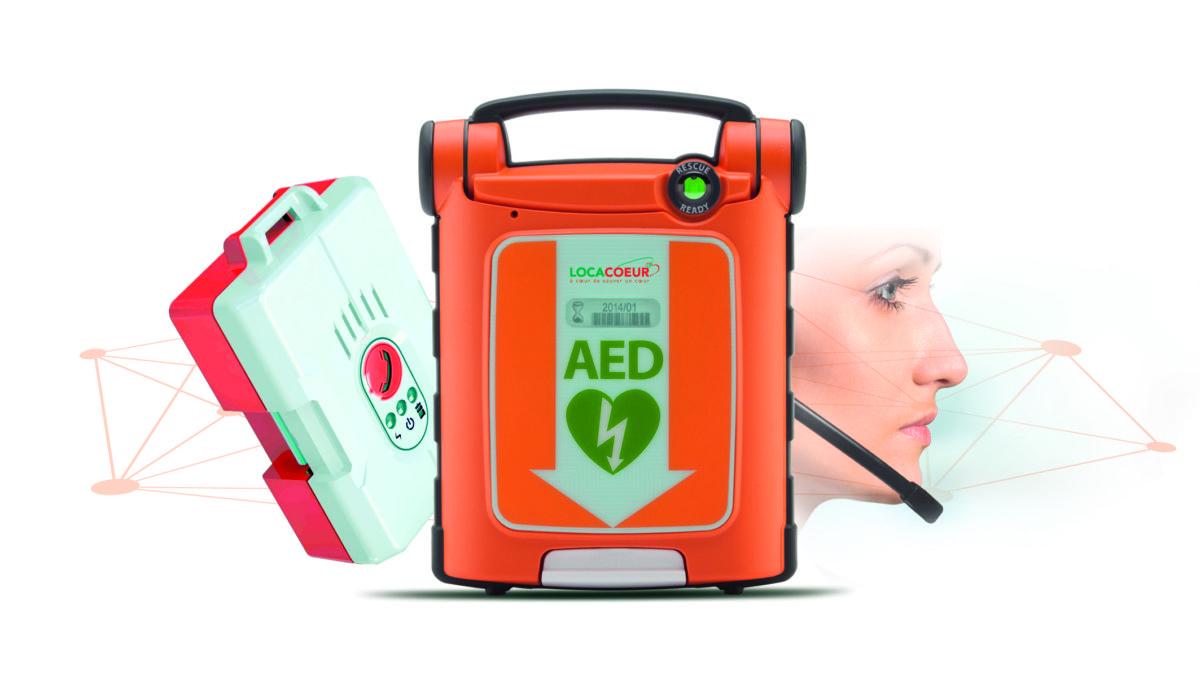 Défibrillateur Cardiaque Automatique Externe Connecté (DAE) Locacoeur