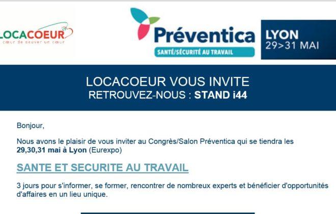 Locacoeur - Préventica