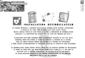 Locacoeur - Eynesse - Bulletin défibrillateur